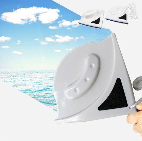 Limpador magnético Dupla Face - Prático Limpa vidros de janelas