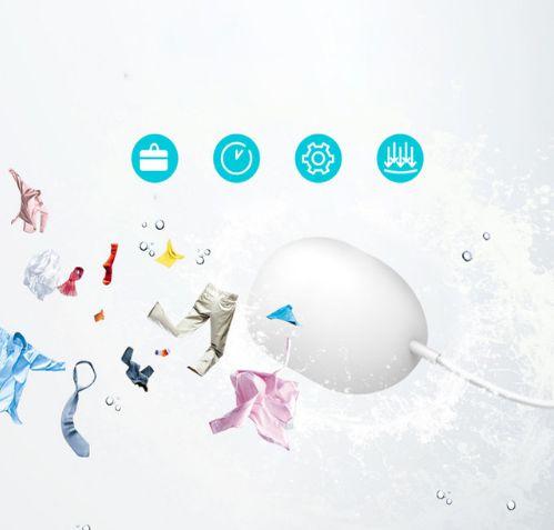 Limpador de Roupas Portátil / Mini Máquina de lavar de bolso