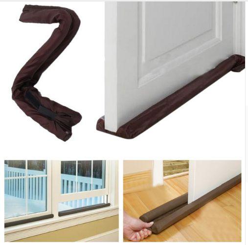 Protetor de portas e janelas - Friso veda e impede água, insetos, poeira e etc..