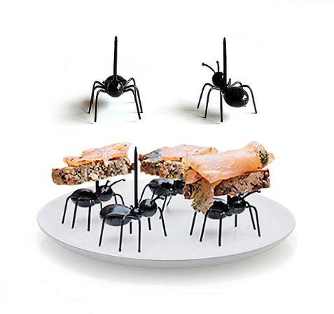 Garfos de sobremesa Formigas / 12 peças