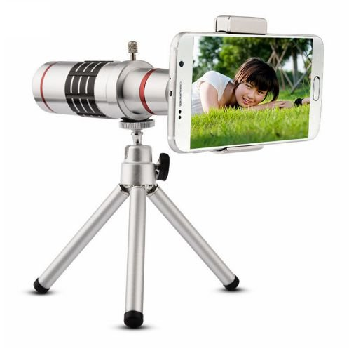 Lente para Smartphone Super Zoom 18X - telescópio modelo Universal