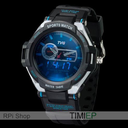 Relógio TVG Pointer com alarme de vibração