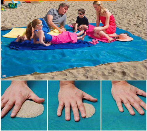 Tapete Mágico para Praia e Camping - Sandless (200cm X 200cm)