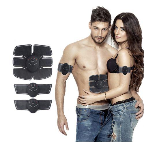 Tonificador Muscular SixPad ABS FIT - Aparelho Emagrecedor elétrico / Pacote completo abdominal + braços