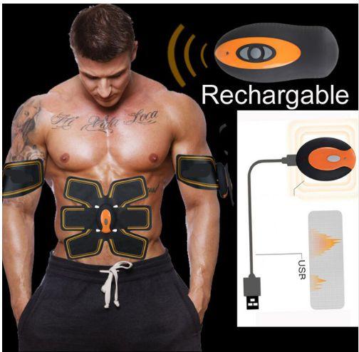 Tonificador Muscular SixPad ABS FIT - Aparelho Emagrecedor elétrico Recarregável / Pacote completo abdominal + braços