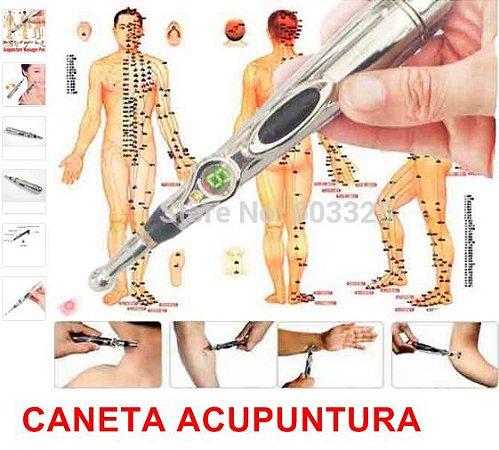 Caneta Acupuntura - Terapia Meridianos de acupuntura laser