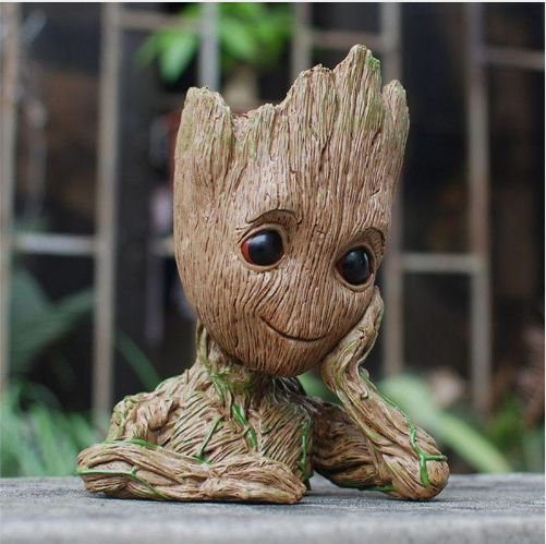 Vaso decorativo Baby Groot Guardiões da Galáxia