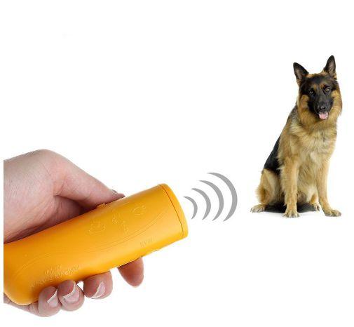 Adestrador/Repelente de Cães Ultrassônico Portátil Anti Latido