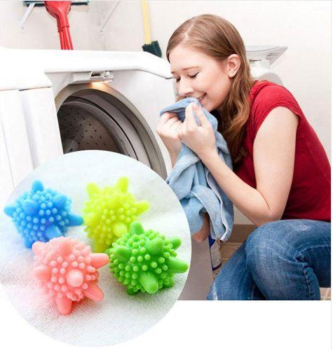 Esferas de lavagem para máquina de lavar roupas - Bola sanitária * Kit com 10 pçs