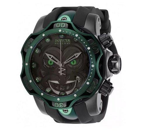 Relógio Invicta The Joker Black Venon - Lançamento 2020 edição limitada