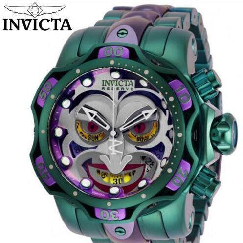 Relógio Invicta The Joker - Lançamento 2020 Edição Limitada