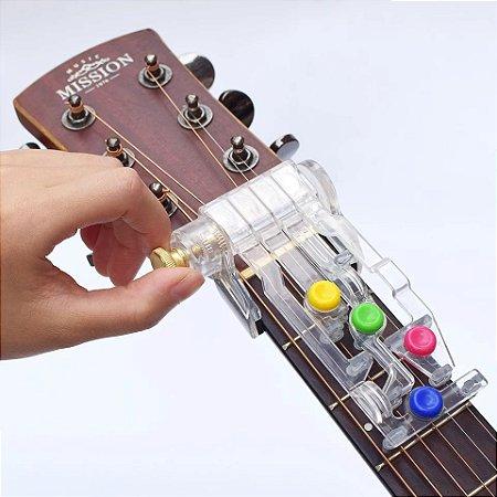 Acorde 2.0 Aparelho de aprendizagem para instrumentos de corda