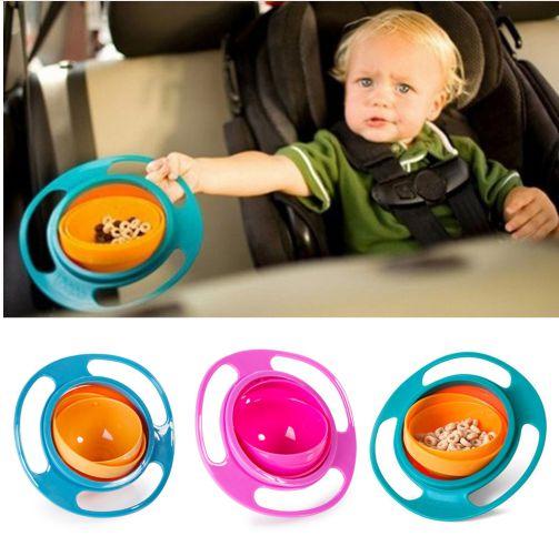 Prato Mágico Gyro Bowl - Tigela Anti Queda para crianças