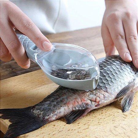 Ralador de Escamas de Peixe