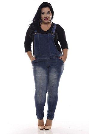 Macacão Jeans Plus Size I