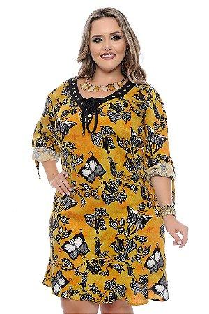 Vestido Plus Size Deborah