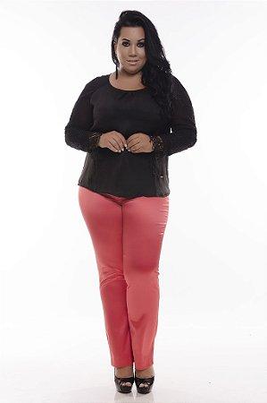 Calça Social Plus Size Larissa