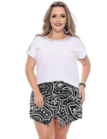 Shorts Saia Plus Size Sabrina