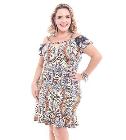 Vestido Plus Size Alicia