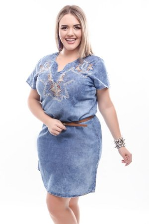 Vestido Plus Size Azure