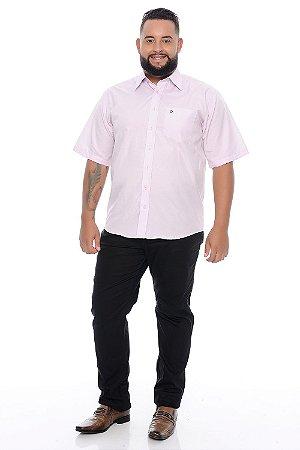 Calça Masculina Plus Size Sarja Preta