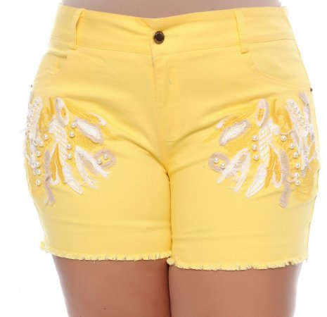 Shorts Plus Size Açucena