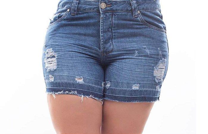 Shorts Plus Size Jeans Maraisa