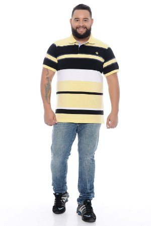 Calça Masculina Plus Size Jeans Slim Estonada