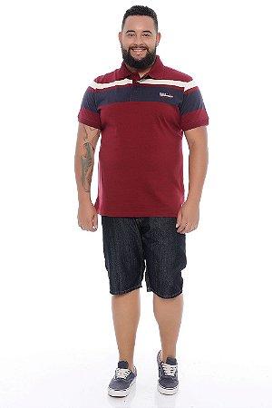 Bermuda Masculina Plus Size Jeans Bruno