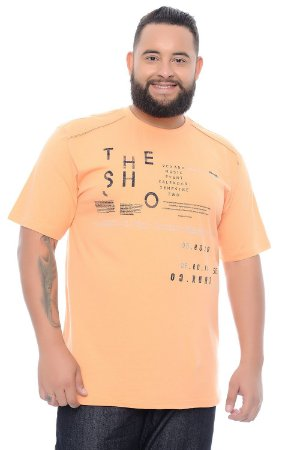 Camiseta Masculina Plus Size Filipo