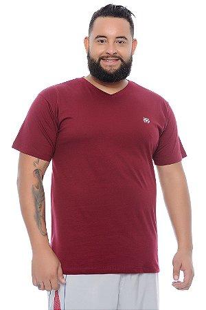 Camiseta Masculina Plus Size Conrado