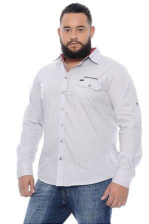 Camisa Masculina Plus Size Esporte Fino