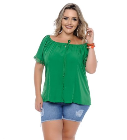 Blusa Plus Size Arlete