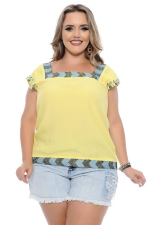Blusa Plus Size Alyssa