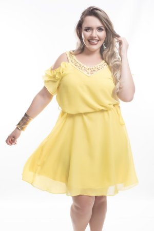 Vestido Plus Size Analu