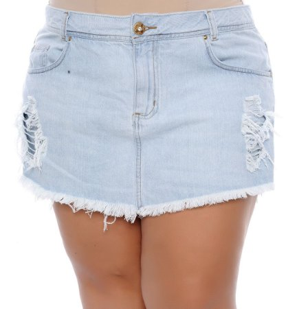 Shorts Saia Plus Size Mica