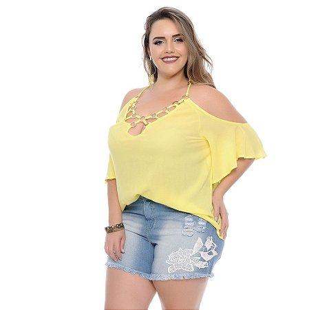 Blusa Plus Size Dema