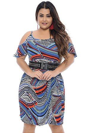 Vestido Plus Size Lídia