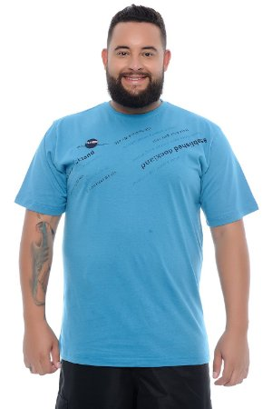 Camiseta Masculina Plus Size Hugo