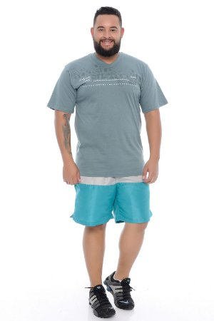 Bermuda Masculina Plus Size Tactel Léo