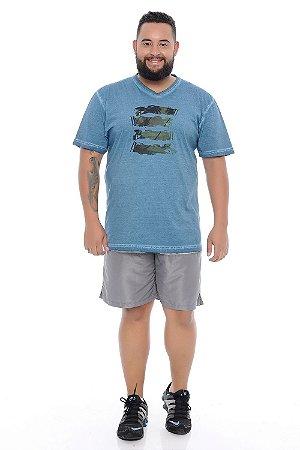 Bermuda Masculina Plus Size Tactel Levi