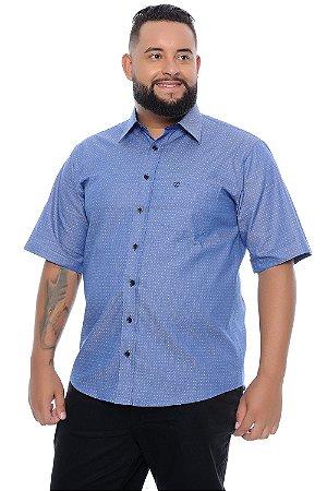 Camisa Masculina Plus Size Castor
