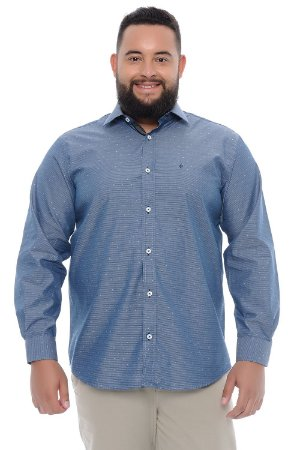 Camisa Masculina Plus Size Apollo