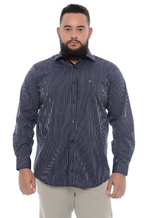 Camisa Masculina Plus Size Baltazar