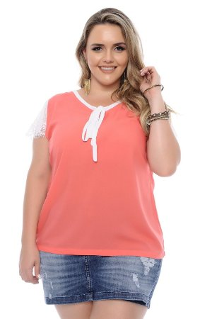 Blusa Plus Size Ruth