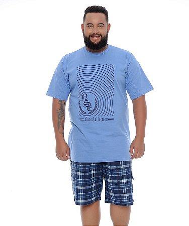 Bermuda Masculina Plus Size Murilo