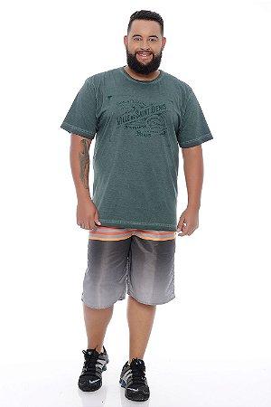 Bermuda Masculina Plus Size Tactel Renato