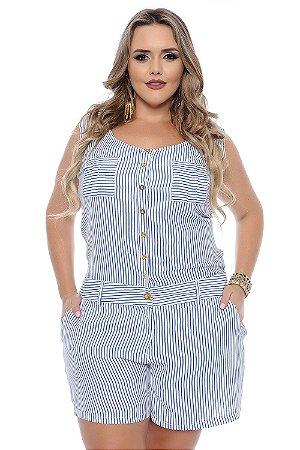 Macaquinho Plus Size Ana Paula