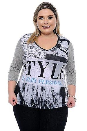 Blusa Plus Size Nina