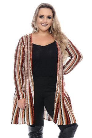 Cardigan Plus Size Lena